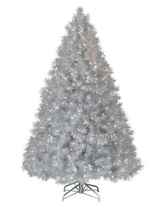 6ft 180cm Christmas Tree Colour Changing Fibre Optic Lights Image