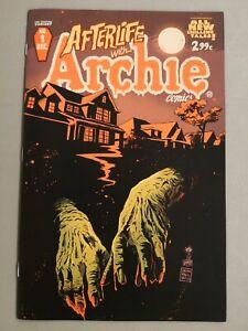 AFTERLIFE with ARCHIE #1 signed variant 2nd print FRANCESCO FRANCAVILLA  2013