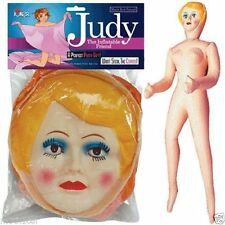 Judy Inflatable Blowup Bachelor Party Gag Joke Blow Up Doll Girl Female