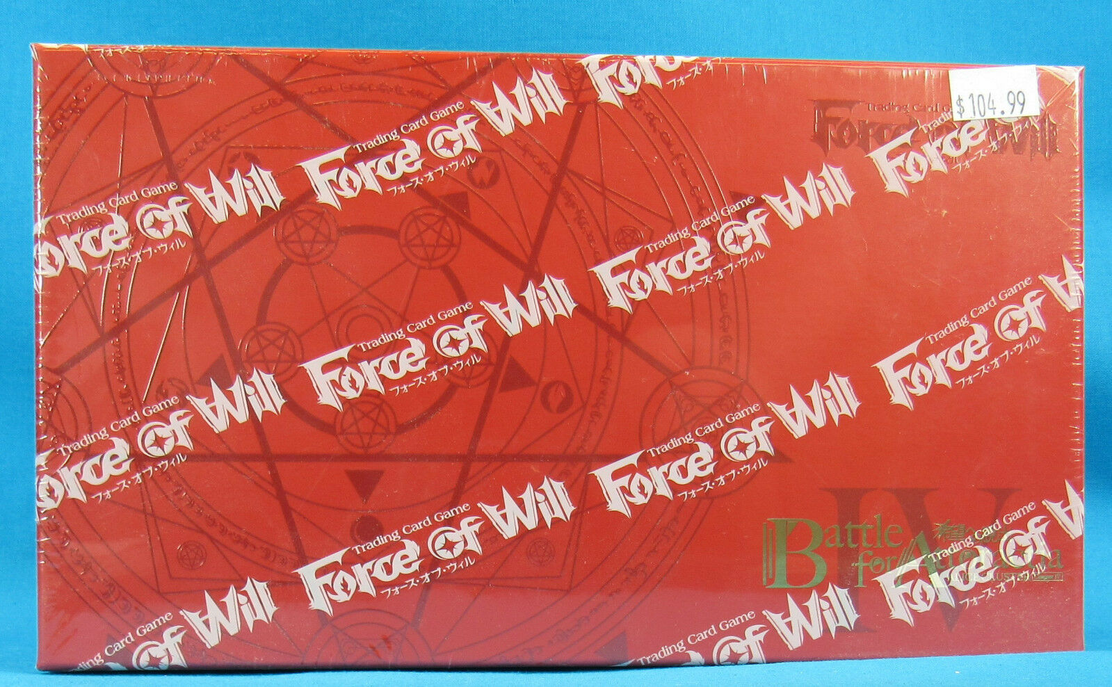 Force of Will Trading Card Game Battle For Attoractia Booster Box NEW SEALED