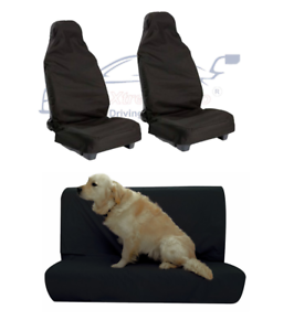 FRONT REAR WATERPROOF CAR SEAT COVER DOG PET PROTECTOR ROVER 100