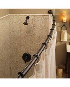 Image Is Loading MOEN 54 034 72 Adjustable Curved Shower