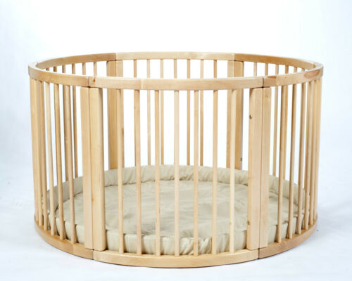 Brand NEW VERY LARGE Wooden Playpen ATLAS UNO with Playmat by MJmark SALE !!!!