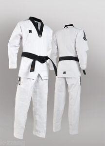 1 EA Korea Taekwondo Color Pants Black Red TKD Karate Judo Martial arts