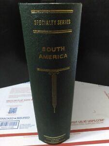 "Scott Specialty Series South America Stamp Album Binder- Very Nice 2-Post - 3"""