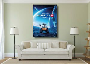 Image Is Loading Wall E Disney Kids Clic Movie Poster Large