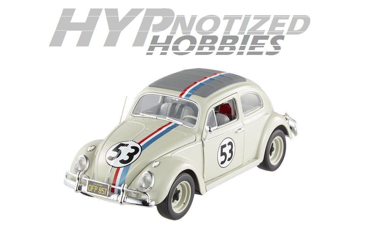 Hotwheels elite 1,18 herbie - ein toller käfer kehrt zurück bcj94 vw käfer