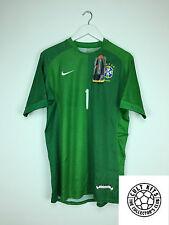 BRAZIL 06/07 *BNWT* GK Football Shirt (M) Soccer Jersey Nike