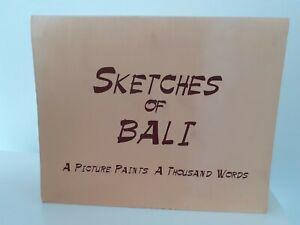 Sketches-Of-Bali-a-Picture-Pinturas-Mil-Words-Encuadernacion-Libro-Tapa-Dura