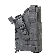 NcStar Vism Tactical Ambidextrous Modular MOLLE Pistol Gun Holster Urban Gray
