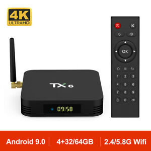Android-9-0-TX6-Smart-TV-BOX-Allwinner-H6-Quad-core-BT-4-1-Wifi-4K-TV-CAJA-4GB