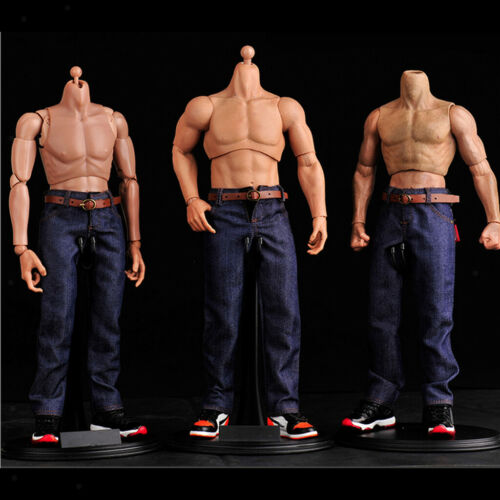 """1//6 Male Jeans Trousers Clothes for 12/"""" Action Figure Dolls"""