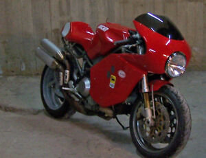 Details about Ducati ST Cafe-Racer Full Fairing Conversion/Modification Kit
