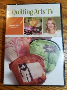 Details About Quilting Arts Tv Series 300 Patricia Pokey Bolton New Dvd S 13 Episodes