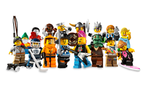 Lego 8804 Ensemble Complet De 16 Mini Figurines Série 4