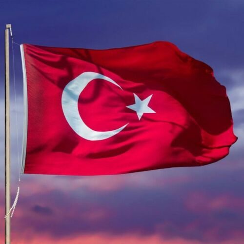 90×150cm Turkey Flag 3x5ft Banner Turkish Home Decoration Hanging Country Flags