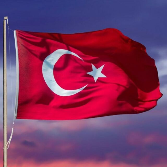 90×150cm Turkey Flag 3x5ft Banner Home Turkish Decoration Hanging Country Flags