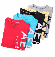 Aeropostale Men Short Sleeve Vertical Aero Ny Graphic T-shirt Style 7601 $0ship