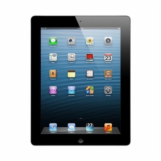 Apple iPad 4th Gen 32GB, Wi-Fi + Cellular (Verizon) 9.7in - Black (MD523LL/A)-C