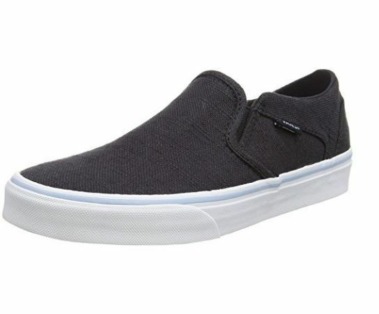 Vans Asher Womens Low Top Trainers Trainers Trainers UK 8 EU 41 LN086 OO 08 3b15db