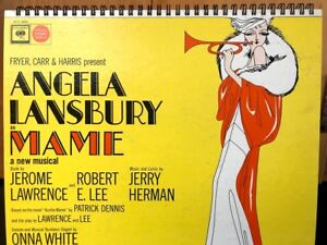 Details about for the MAME Original Broadway Cast/ Angela Lansbury fan /  Album Cover Notebook