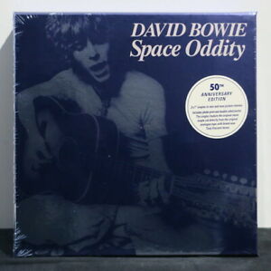 DAVID-BOWIE-039-Space-Oddity-039-50th-Anniversary-2x7-034-Box-Photo-Print-amp-Poster-NEW