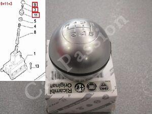 kit-POMELLO-CAMBIO-ALFA-ROMEO-GIULIETTA-ORIGINALE-lente-impugnatura-gear-knob