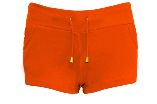 Nuovo da Donna Palestra Estate Tasca Culotte Jeans Strappati Jersey Shorts 8-16