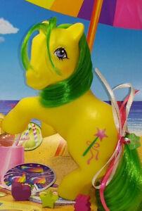 My Little Pony Vintage G1 Magic Star Deflocked Former So Soft Pony Gorgeous