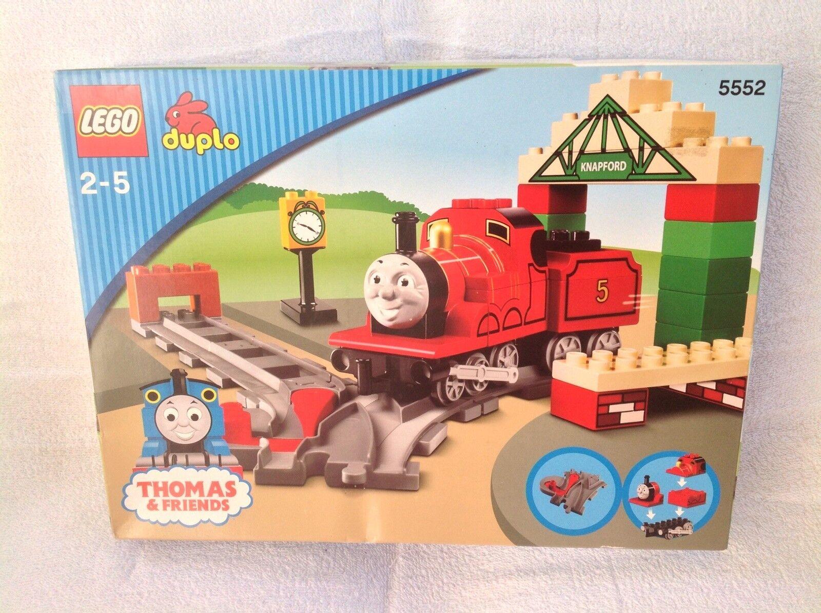 LEGO DUPLO 5552 il trenino Thomas-James alla stazione Knapford-NUOVO CON SCATOLA