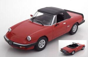 Alfa-Romeo-Duetto-Spider-3a-Serie-1986-Red-1-18-Model-KK-SCALE