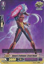 1x Cardfight!! Vanguard Amon's Follower, Cruel Hand - PR/0357EN - PR Near Mint