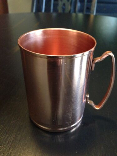 14 OZ  LIBBEY MM-200 FREE SHIPPING USA ONLY 4 MOSCOW MULE COOPER MUG SET OF