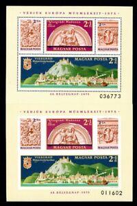 Ungarn MiNr. Block 115 A+B postfrisch MNH (Z403