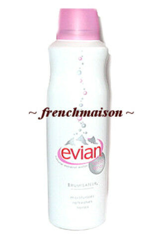 be3bd45eb8786 Details about Evian Facial Spray Brumisateur Natural Mineral Water 2 Travel  Size 1.7oz 50ml