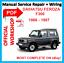 1988-1998 # officiel Workshop Manual Service De Réparation Pour Daihatsu Feroza F 300