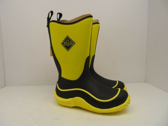 Yellow Muck Boots