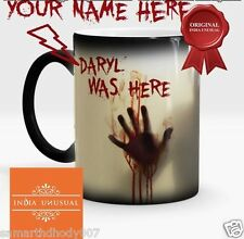 WALKING DEAD PERSONALIZED ZOMBIE Magic Color Change Coffee Mug  Home Decor EDH