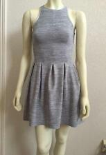 Lululemon Here To There Dress Grey Commuter Denim Silver Spoon 4 NWOT