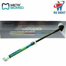 Dental Metapex Calcium Hydroxide & Iodoform Endodontic Root Canal Filling  2.2gr