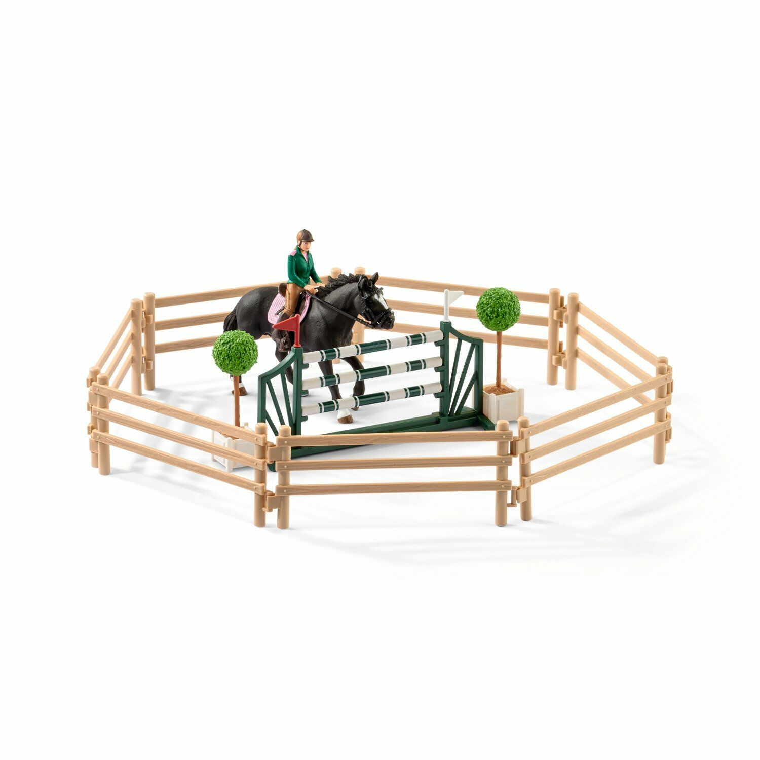 Schleich 42389 Club Riding School with Riders Riders Riders and Horses Toy 089e73