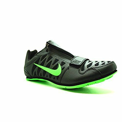 Nike Men's Zoom LJ 4 Strike Men's Nike Long Jump Spikes Black Green Size 11.5 [415339 035] 7e9c20