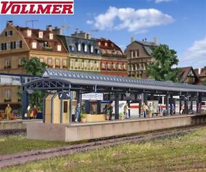 VOLLMER-h0-43541-ICE-Quai-Vaihingen-3-pieces-NEUF-neuf-dans-sa-boite
