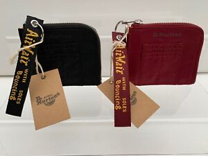 Dr-Martens-AirWair-Flight-Nylon-Wallet-Cherry-Red-Black