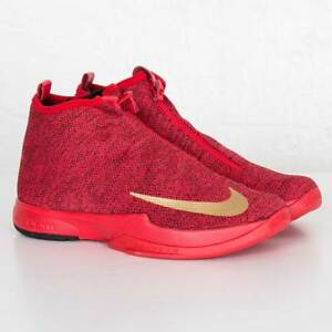 online store 77d15 311a3 Image is loading Nike-Zoom-Kobe-Icon-JCRD-China-Red-Gold-