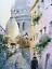 Indexbild 2 - Paris Autumn 35x24 Watercolor painting Aquarell Gemälde impressionism cityscape