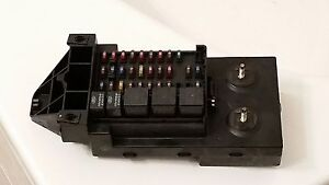 1999 ford f250 f350 super duty diesel fuse box relay panel. Black Bedroom Furniture Sets. Home Design Ideas