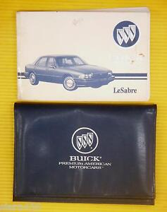 93 1993 Buick Lesabre owners manual