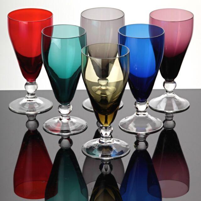 Bunte Gläser farbenfrohe Trinkgläser kollektion erkunden ...
