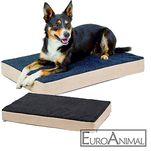 hunde memory foam matratze orthop dische hundebett hundematratze liegebett ebay. Black Bedroom Furniture Sets. Home Design Ideas